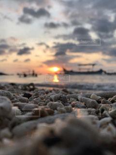 夕日の写真・画像素材[2609871]