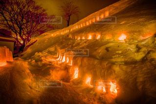 近くに火のの写真・画像素材[1079160]