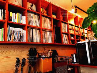 カフェの写真・画像素材[605019]