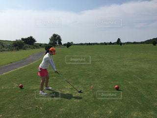 ゴルフの写真・画像素材[521126]