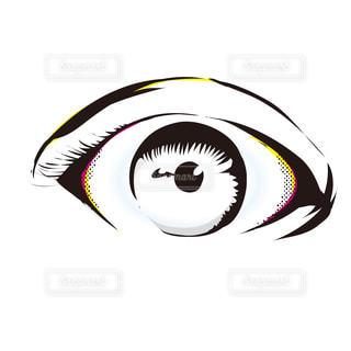 目のイラストの写真・画像素材[2501104]