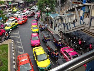 タクシーの写真・画像素材[510309]