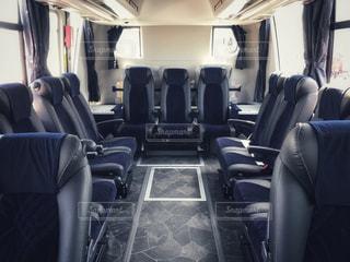 バスの車内の写真・画像素材[1168657]