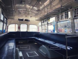 バスの車内の写真・画像素材[1168670]