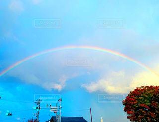 空の虹の写真・画像素材[2723548]