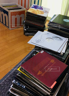 レコード 部屋の写真・画像素材[1427833]