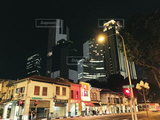 夜景の写真・画像素材[528028]