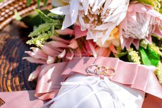 結婚式リングの写真・画像素材[3073132]