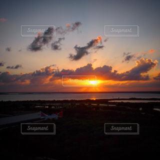 夕日の写真・画像素材[597507]
