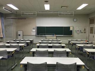 教室の写真・画像素材[519142]