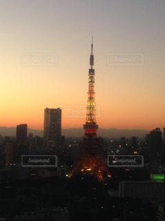 東京タワーの写真・画像素材[543384]