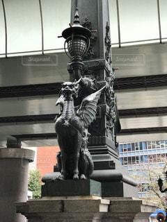 日本橋の龍のオブジェの写真・画像素材[852867]