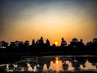 カンボジアの写真・画像素材[516178]