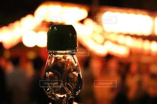 ラムネと盆踊りの写真・画像素材[518429]