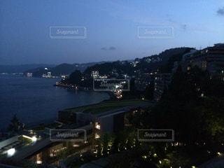 熱海の夜の写真・画像素材[606056]