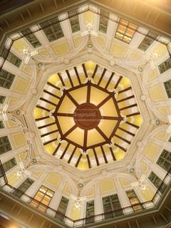 天井が豪華の写真・画像素材[1003689]