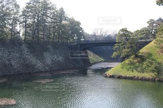川に架かる橋の写真・画像素材[1054679]