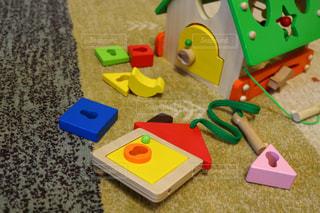 近くにおもちゃのの写真・画像素材[1072208]