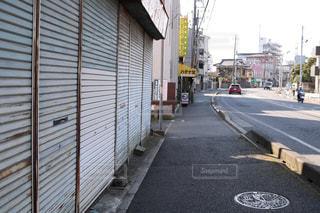 街の通りのビューの写真・画像素材[1083560]
