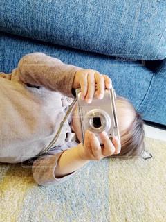 リトルカメラマンの写真・画像素材[1126109]