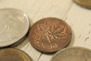 カナダドルの写真・画像素材[1132997]