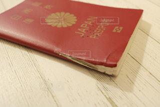 破けたパスポートの写真・画像素材[1133177]