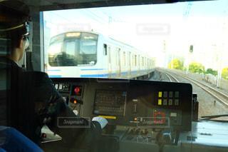 バスに座っている人の写真・画像素材[1138497]