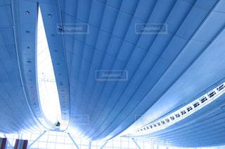 近く飛行機のアップの写真・画像素材[1233827]