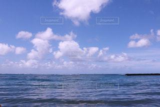 水の大きな体の写真・画像素材[1234010]
