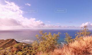 背景の山と水体の写真・画像素材[1234363]