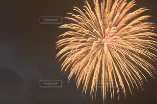 空に花火の写真・画像素材[1365247]