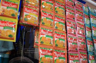 ソーダの缶の写真・画像素材[1504440]