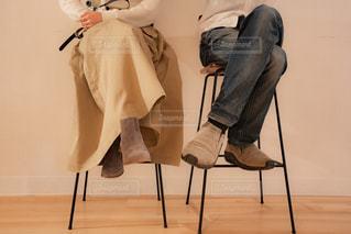 椅子に座っている人々 のグループの写真・画像素材[1809188]