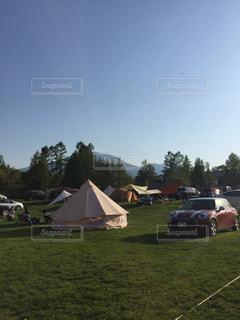 オートキャンプの写真・画像素材[517575]