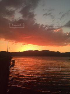 夕焼けの写真・画像素材[519092]