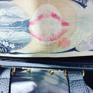 千円札にの写真・画像素材[1000376]