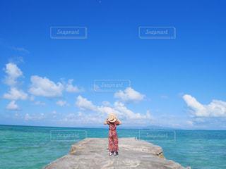 竹富島にての写真・画像素材[692338]
