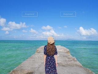 竹富島を感じての写真・画像素材[692339]