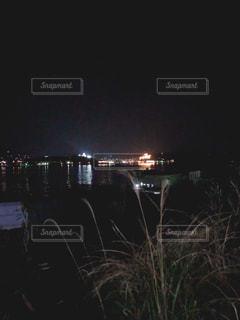 海上の灯火の写真・画像素材[1811383]