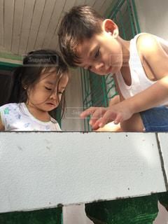 子供 フィリピン 男の子 女の子の写真・画像素材[530674]