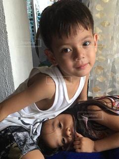 子供 フィリピン 男の子 女の子の写真・画像素材[530676]