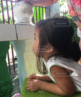 子供 フィリピン 女の子の写真・画像素材[530677]