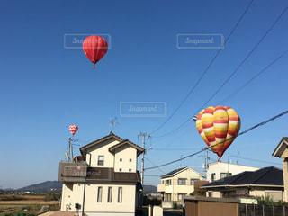 気球の写真・画像素材[522063]