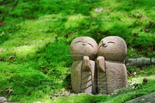 詩仙堂のかわいいお地蔵さんの写真・画像素材[1228423]