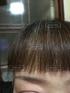 40代 前髪の写真・画像素材[1076189]