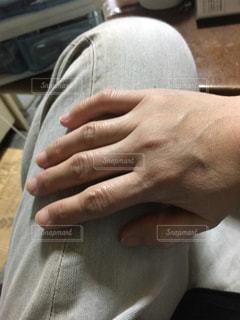 私の手の写真・画像素材[1122740]