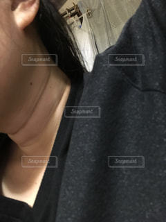 首元の写真・画像素材[1122747]