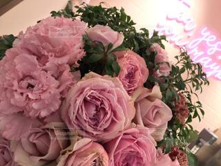 ピンクの花の花束の写真・画像素材[901918]