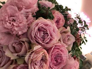 ピンクの花の花束の写真・画像素材[901919]