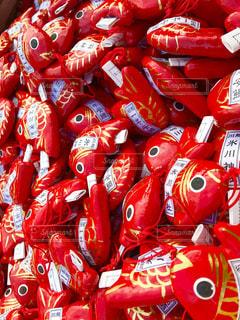 赤いバイクの写真・画像素材[923831]